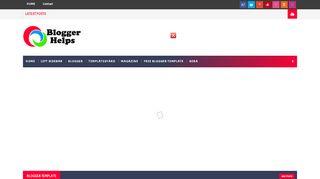 لقطة شاشة لموقع Blogger Helps بتاريخ 03/12/2019 بواسطة دليل مواقع سكوزمى
