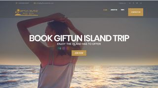 لقطة شاشة لموقع جزيرة الجفتون Giftun Island بتاريخ 31/12/2019 بواسطة دليل مواقع سكوزمى
