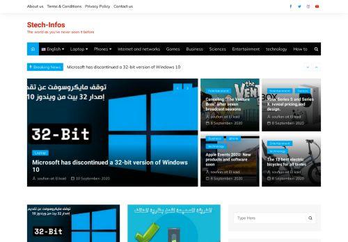 لقطة شاشة لموقع سوفتيك للتقنية بتاريخ 11/09/2020 بواسطة دليل مواقع سكوزمى