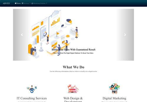 لقطة شاشة لموقع ادفكسي للبرمجة و التسويق الإلكتروني بتاريخ 10/11/2020 بواسطة دليل مواقع سكوزمى